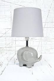 white elephant lamp white lamp base nursery