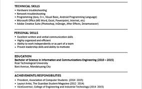 How To Write A Resume Singapore How To Write Resume Singapore Sample Student Nice Cv A Create The 8