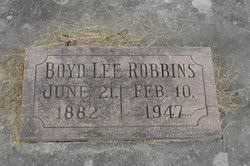 Boyd Lee Robbins (1883-1947) - Find A Grave Memorial