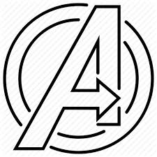 Avengers, emblem, logo, sign, superhero icon
