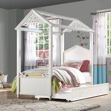 Rapunzel Canopy Bed by Acme Furniture   FurniturePick