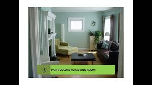 For Paint Colors In Living Room Living Room Paint Color Ideas Youtube