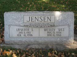 """Wesley """"Wes"""" Jensen (1904-1966) - Find A Grave Memorial"""