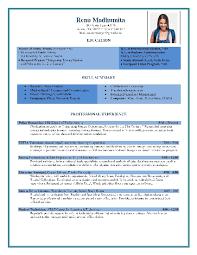 Free Resume Template Word  Kallio Simple Resume Template Free