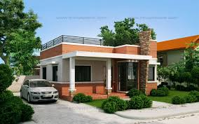 Small Picture Rommell One Storey Modern with Roof Deck Pinoy ePlans