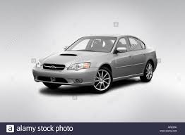 2006 Subaru Legacy 2.5 GT spec. B in Silver - Front angle view ...