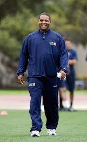 Quarterback coach Steve Clarkson