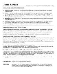 Resume Template Office Beauteous Tsa Resume Template Police Officer Resume Template Free