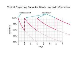 Image result for ebbinghaus forgetting curve and practice