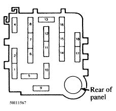 need a fuze box diagram for a mazda b2300 4 cylinder 2004 Mazda B2300 Fuse Box Diagram full size image