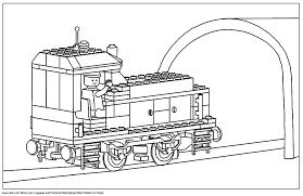 12 Dessins De Coloriage Lego City Train Imprimer