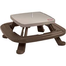 Little Tikes Bedroom Furniture Little Tikes Fold N Store Picnic Table With Market Umbrella
