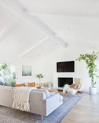 A Minimalist Mid-Century Home Tour | Home Sweet Home | Living room ...