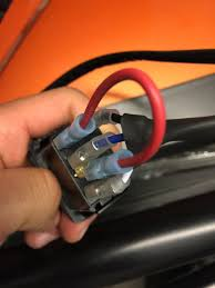 rocker switch wiring question page 2 polaris rzr forum rzr the picture below is how i connected my switch to a totron led light bar and it works fine turn the key bottom letters light up flip the switch and both
