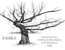 Family Tree Tree 7 Printable Family Trees A Perfect Thanksgiving Activity