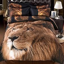 babycare pro lion print 3d bedding sets