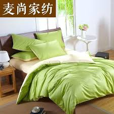 duvet sets green custom solid color bedding set green silk satin bedding sets king size comforter