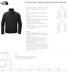 Soft Shell Jacket Size Chart North Face Men Ridgeline Soft Shell Jacket Size Chart Holy