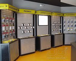 In Store Display Stands EL100 Wooden Cell Phone Store Display RacksGuangzhou Dinggui 100