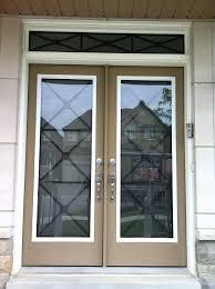fancy glass door insert glass door inserts 9 best wrought iron glass inserts by home improvement