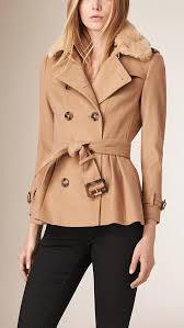 women camel wool double ted jacket