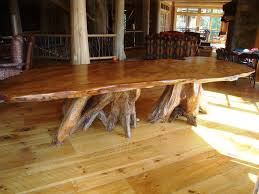Dining Room  Rustic Wood  Dining Table Diy How To Build A - Diy rustic dining room table