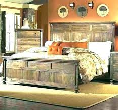 How To Build A Log Bed Queen Frame For Sale King Size Rustic Red ...