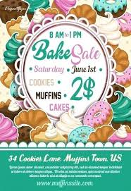 Bake Sale Flyer Templates Free Bake Sale Poster Template Free For Resume Summary Flyer