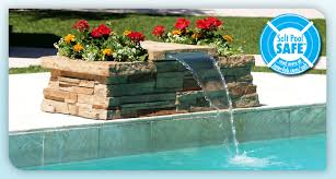 in ground pools with waterfalls. Edgestone Jump \u0026 Splash In Ground Pools With Waterfalls A