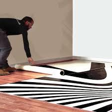 easy to lay cushioned floor vinyl custom printed exhibition flooring