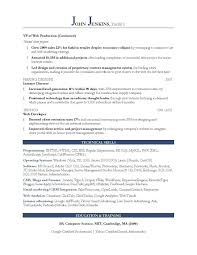 Marketing Resume Examples 2017 Svoboda2 Com