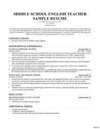 Example Teacher Resume Example Teacher Resume Sample 100a New First Year With No Experience 66