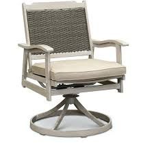 white washed swivel rocker patio chair lake house rc willey swivel rocking patio chairs swivel rocker
