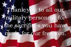 thank you memorial day sayings