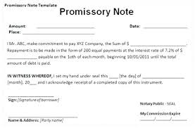 Promissory Note Template For Family Member Borrowing Y Contract Template Loan To Family Lending