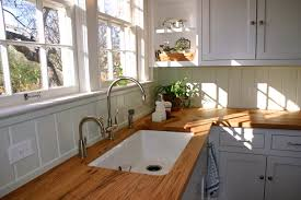 interior white cabinets with wood countertops brilliant kitchen wooden countertop colorful backsplash floor 28 from