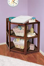 corner baby changing table unique angle on changing tables