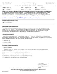 requesting services aa letter