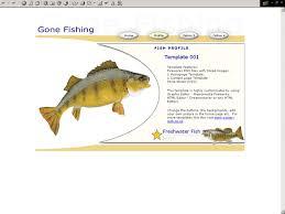 Fish Website Template Free Popteenus Com