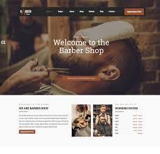 Barber Shop Website Barber Shop Best Wordpress Theme 2019
