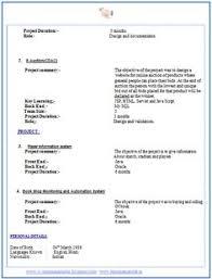 Resume Formats For Fresher Engineer Http Www Resumecareer Info