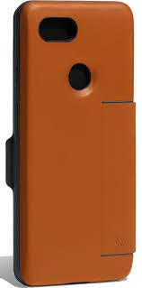 bellroy leather wallet case pixel 3 tan