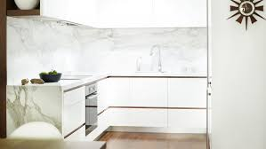 Splashback For White Kitchens Simple And Chic Apartment Living