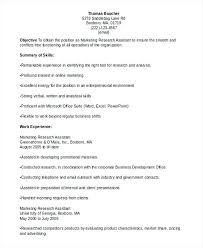 Cover Letter Market Research Analyst Resume Market Research Analyst