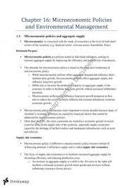 microeconomic policies essay year hsc economics thinkswap microeconomic policies and environmental management hsc economics
