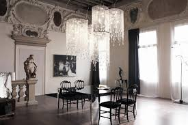 venezia crystal chandelier cattelan italia contemporary dining modern crystal light fixtures on crystal light