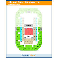 Rp Funding Center Seating Chart Rp Funding Center Events And Concerts In Lakeland Rp