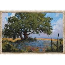Shop Texas <b>Afternoon</b> Framed <b>Canvas</b> Wall Art - On Sale - Free ...