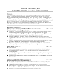 Cover Letter Resume Templates For Administrative Assistants Resume