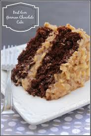 Decorated German Chocolate Cake Best Ever German Chocolate Cake Mainjpg